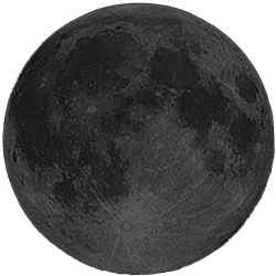 New Moon, Moon at 0 days in cycle