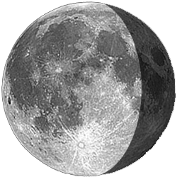 Waning Gibbous, Moon at 19 days in cycle